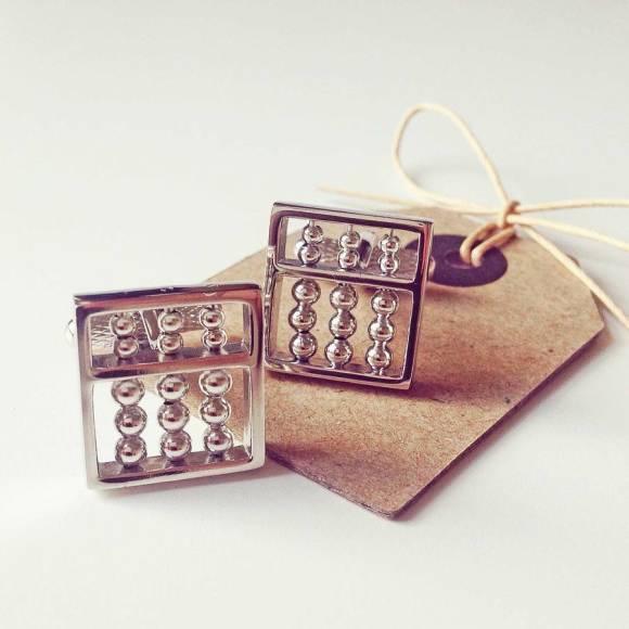 Abacus Cufflinks