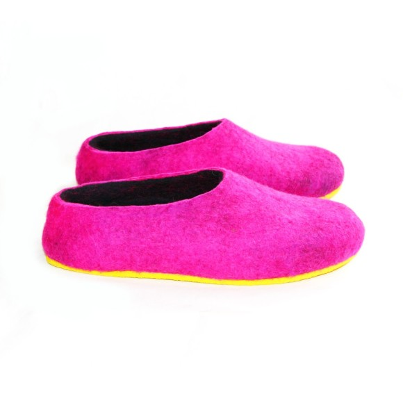 felted wool slipper