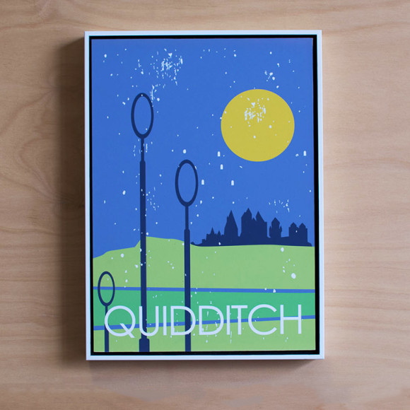 Quidditch in White Floater