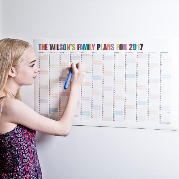 Wall Planner - Tutti Fruity