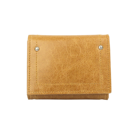 hudson wallet honey front