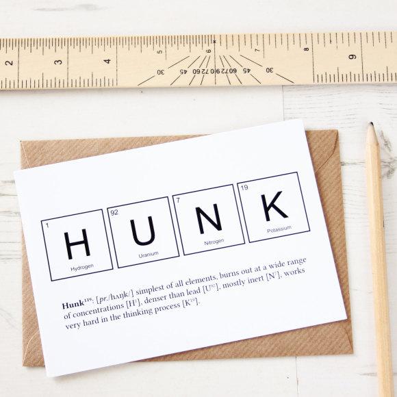 Hunk Card