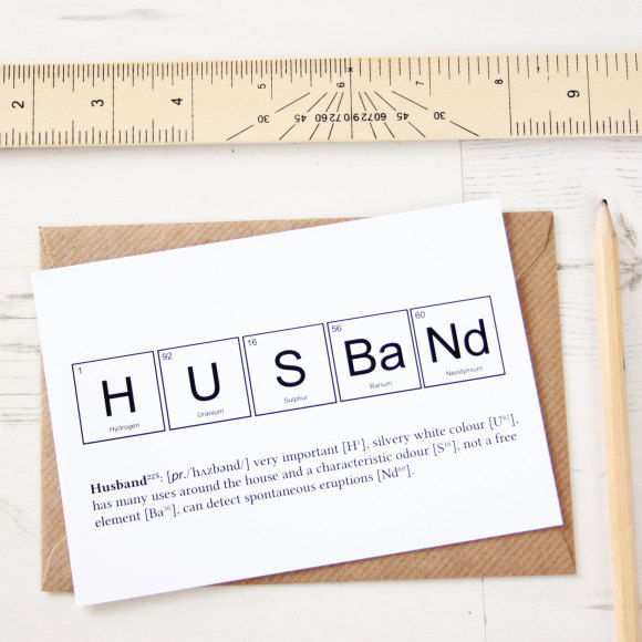 Husband Card