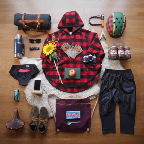 Winter Lumberjack styling