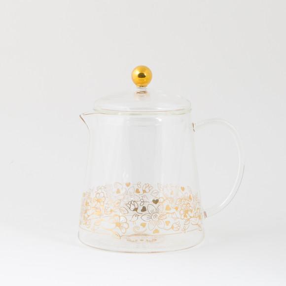 Birdy Glass Teapot