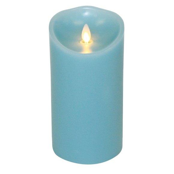 Luminara flameless candle Blue
