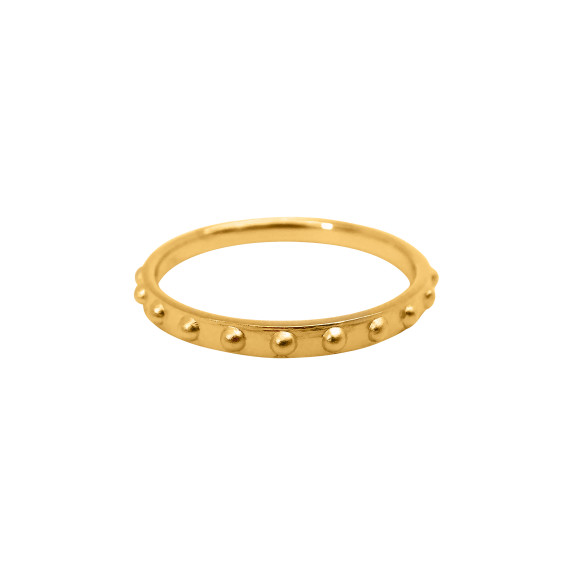 Mini Ball Eternity Ring gold