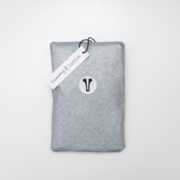 Badger t shirt packaging