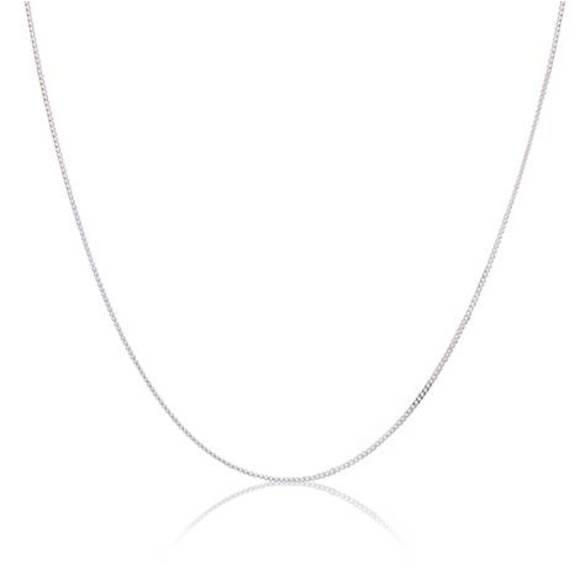 Fine Silver Curb Chain