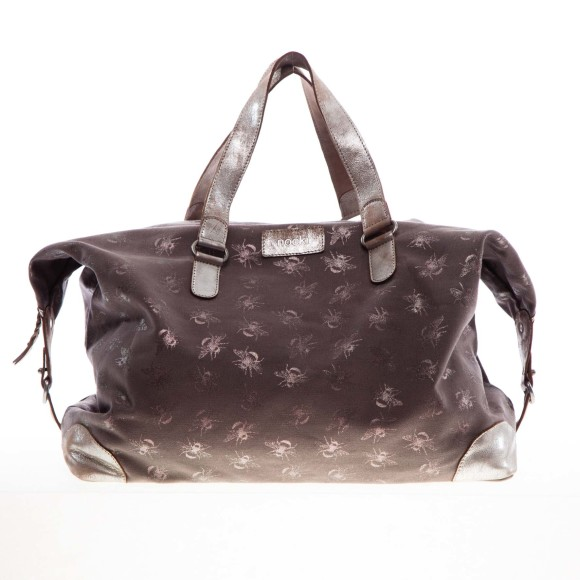 Savannah overnight bag grey front