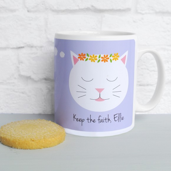 'Always believe...' quote mug Lilac