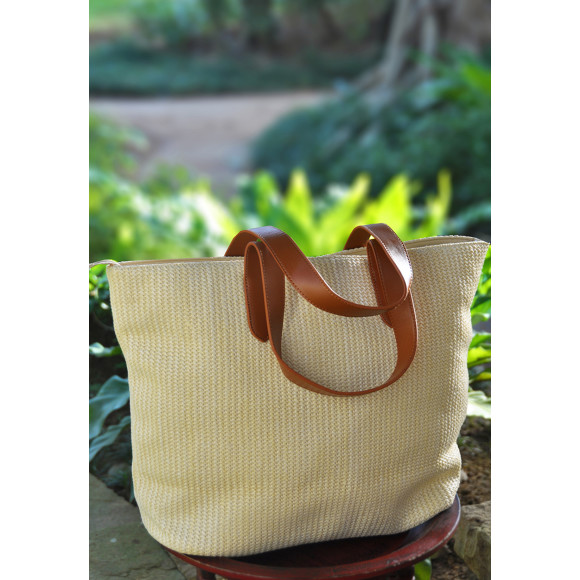 Natural Recycled PVC Bag