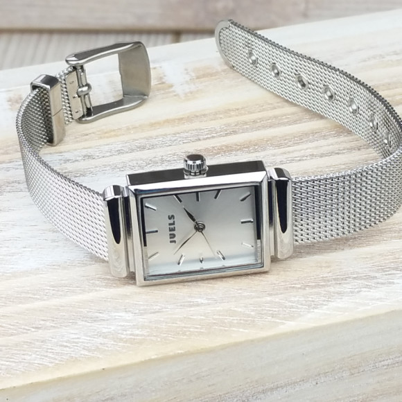 Highly polished ladies watch
