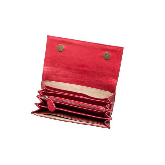 Inside View (Zola Wallet shown in red)
