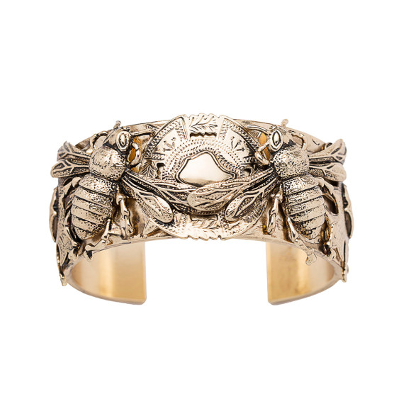 The Queen Bee Cuff Gold