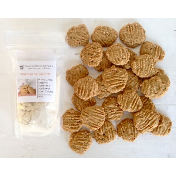 Actual cookies made from one mix (27 x 25gm)