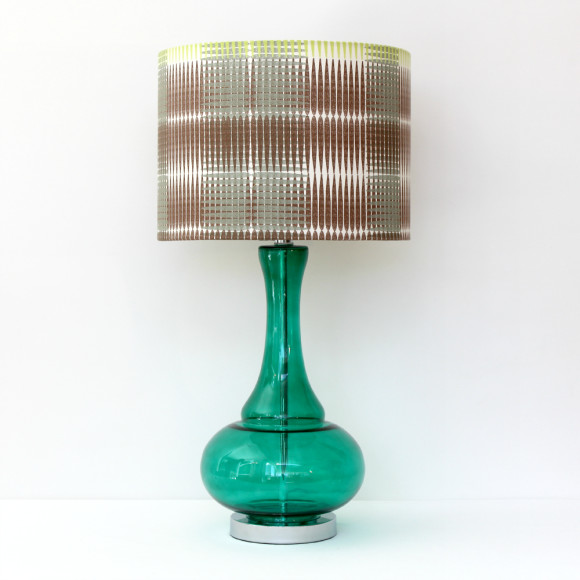 Dream Glass Lamp Base Green
