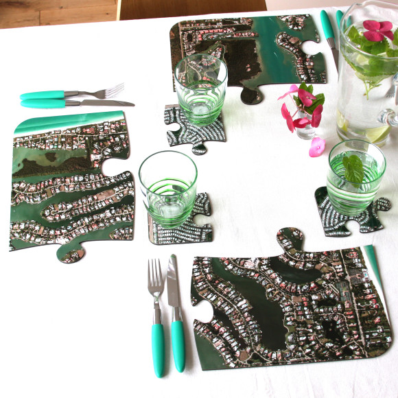 aerial placemats