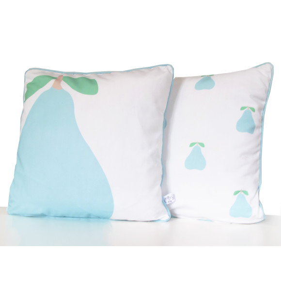 Pear, cushion cover