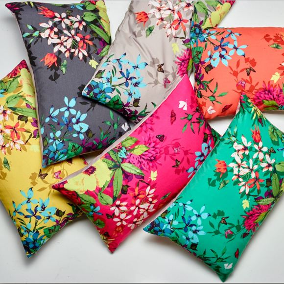 The Tropicana cushion range