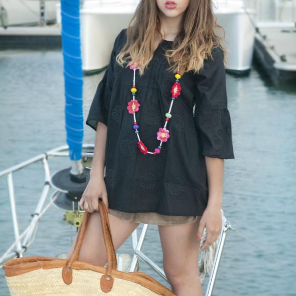 Black Noorie Tunic