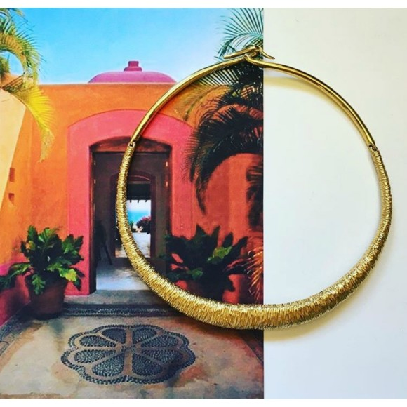 Hissia Marrakech gold nekclace