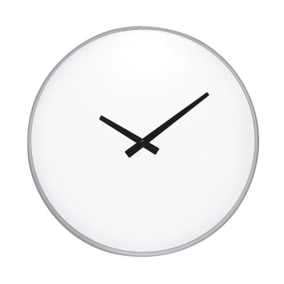 Grey & white clock