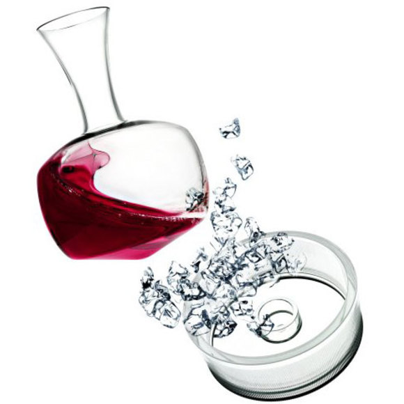 Italesse Alavin decanter + cooler base
