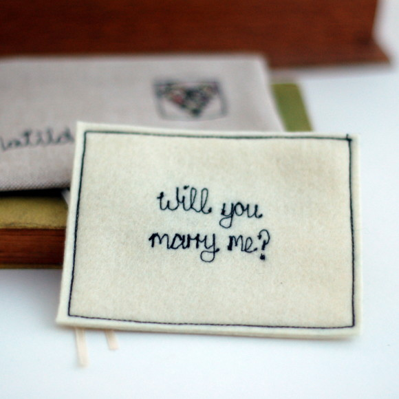 propose with our personalised love note