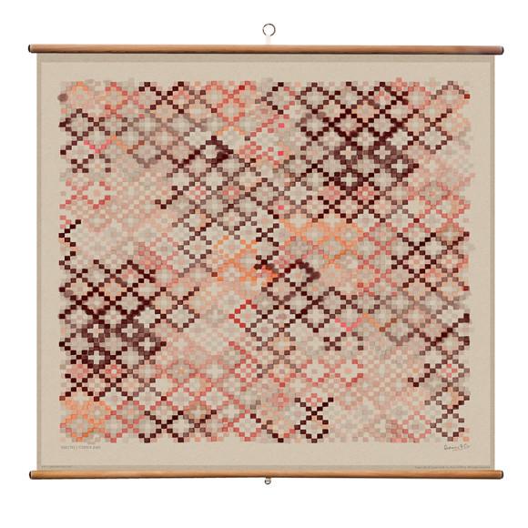 Copper Pink - 110 x 100cm