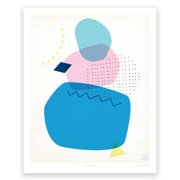 Periwinkle Art Print