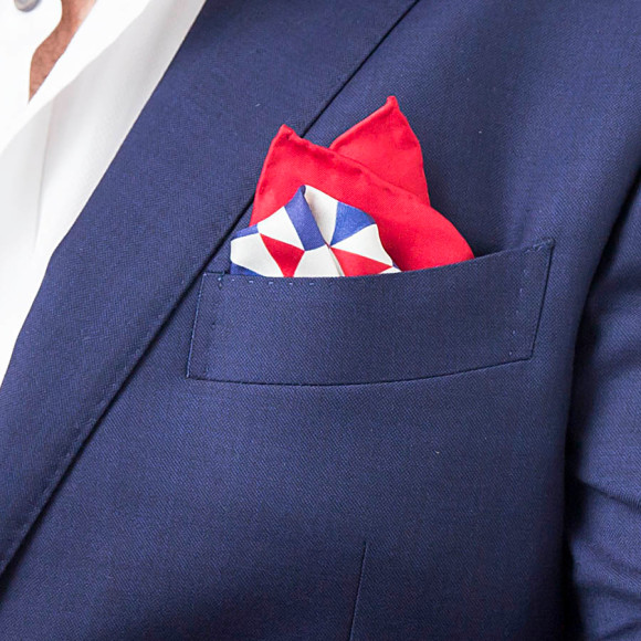 Lincoln Silk Pocket Square