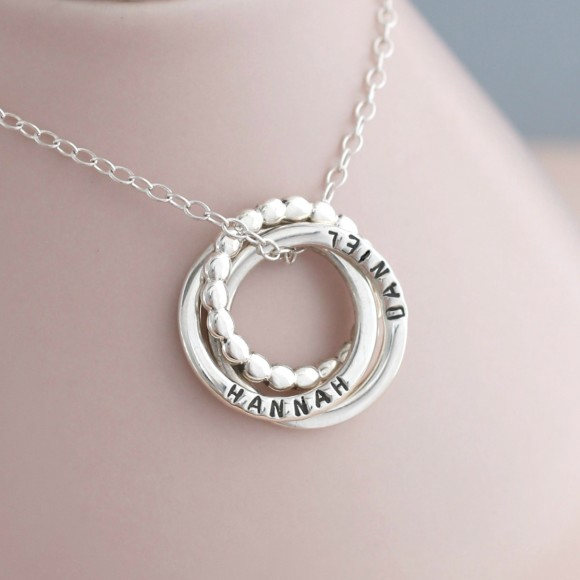 Personalised Eternity Bead Necklace