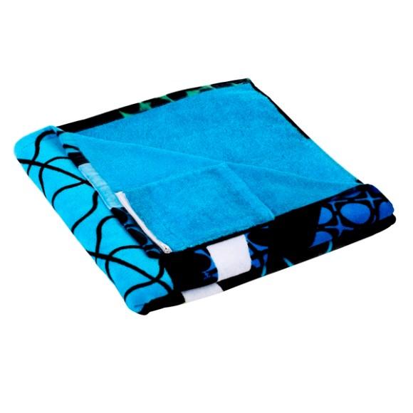 Pocket beach towel