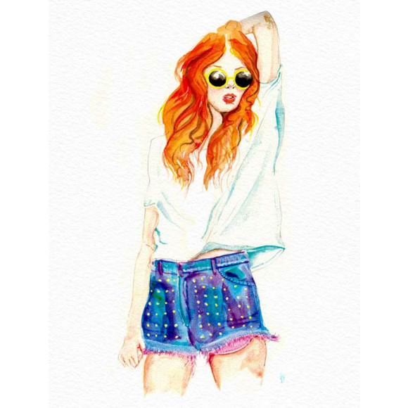 Summer Girl Giclee