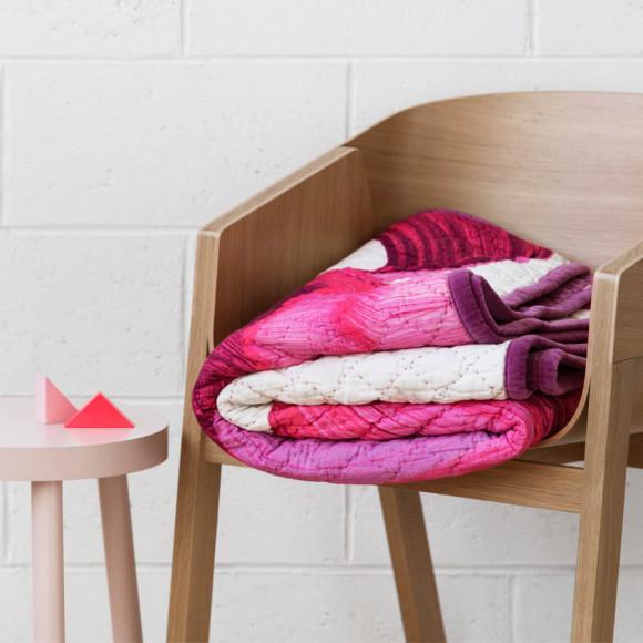 Adrian Quilt - Pink