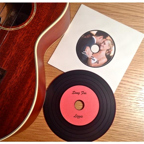 Vinyl-look CDs