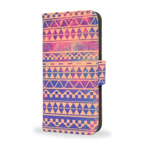 Aztec Print Smartphone Wallet Case Front