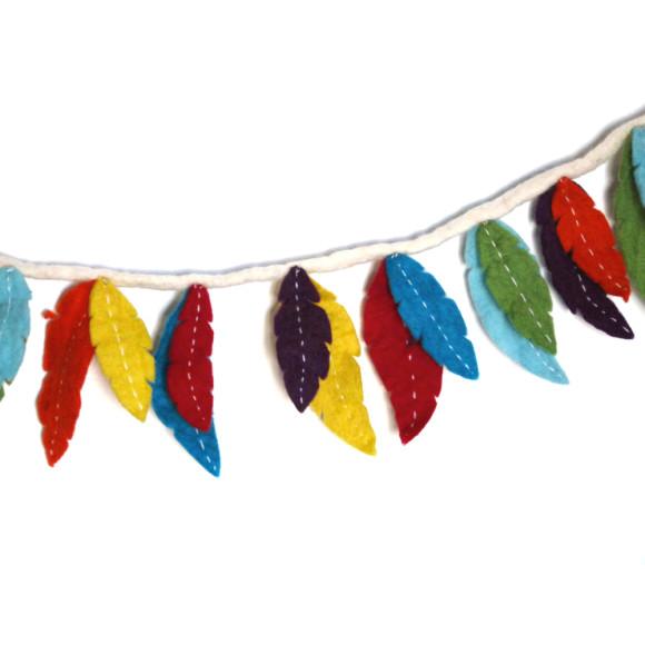 Multicolour Feathers