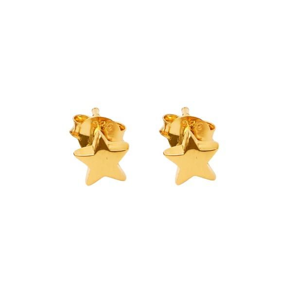 star studs gold