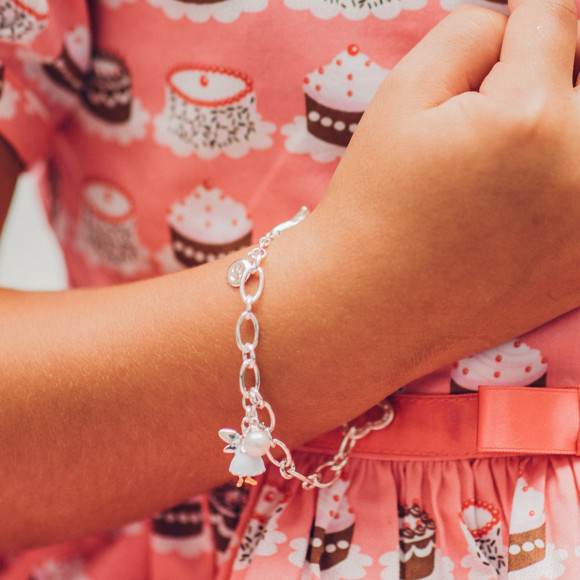 White Fairy Wish Bracelet.