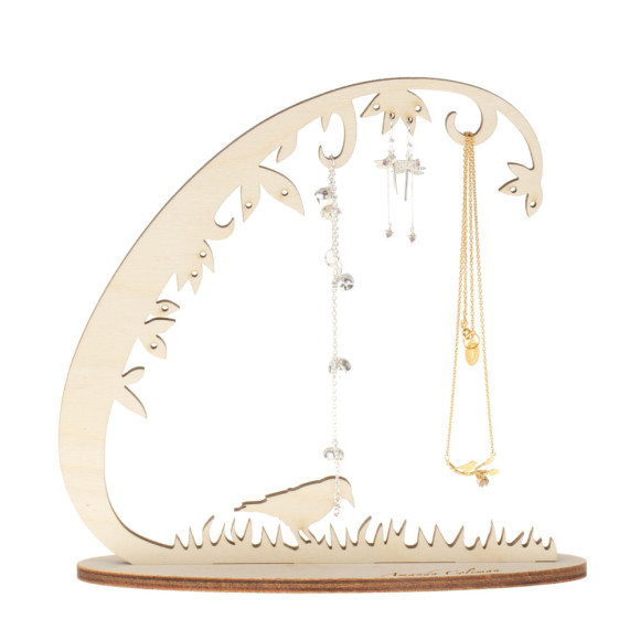 Amanda Coleman Woodland Jewellery stand small