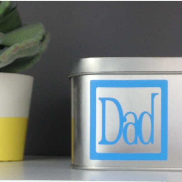 Dad personalised in Blue