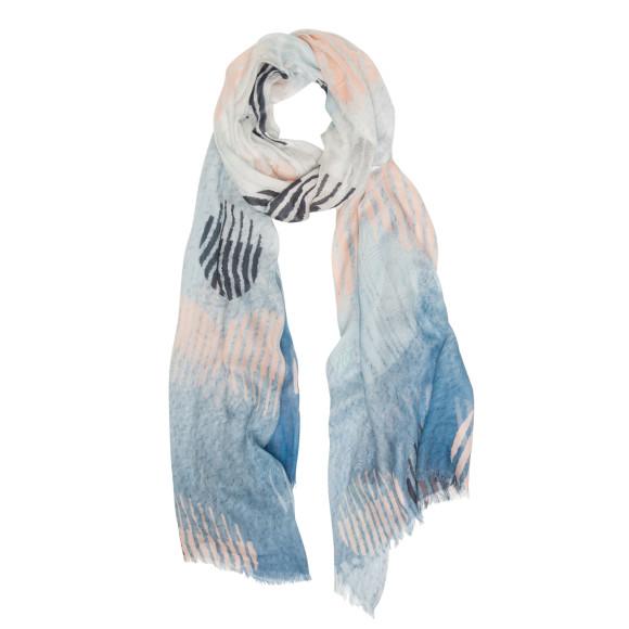 Circle moon scarf