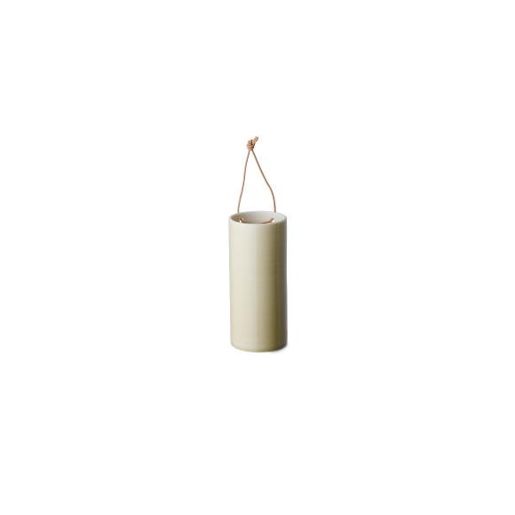 Artichoke green hanging vase