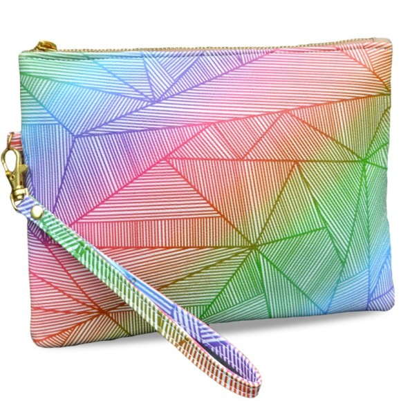 Billy Rays Neon Clutch Bag