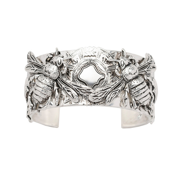 The Queen Bee Cuff Silver