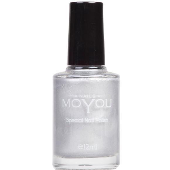 Moyou silver nail polish