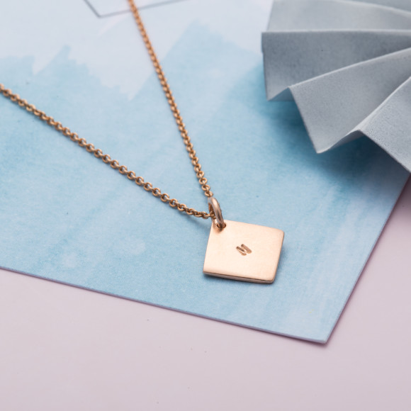 9ct rose gold plate option