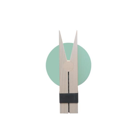 Mint Green 19.5cmH